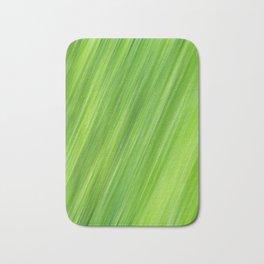 Green strips pattern Bath Mat