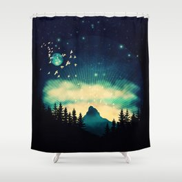 Stellanti Nocte Shower Curtain