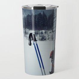 ski equipment Travel Mug