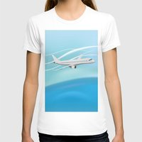 airplane T-shirts featuring Airplane by salamandra7