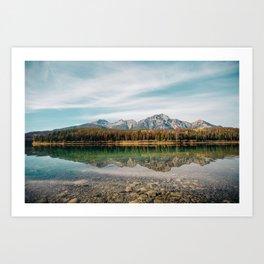 Alberta Reflections Art Print