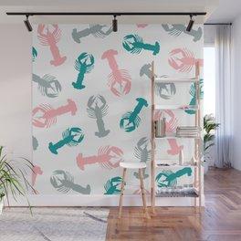 Lobsters 03 Wall Mural