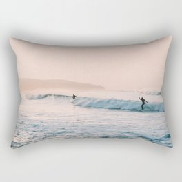 Sunset Surf Rectangular Pillow