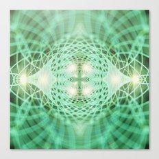 Geometry Dreams : Eternal Canvas Print