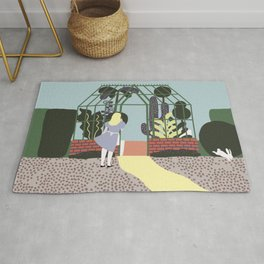 The greenhouse Rug