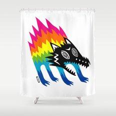 Screech Shower Curtain