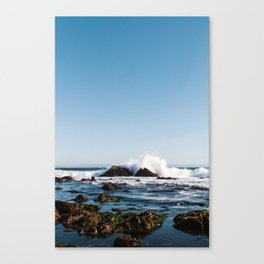 By The Seaside Canvas Print