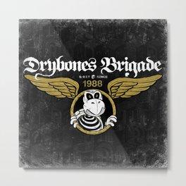 DryBones Brigade Metal Print