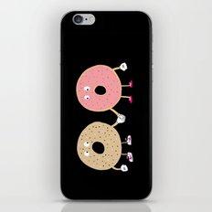 Power Couple iPhone Skin