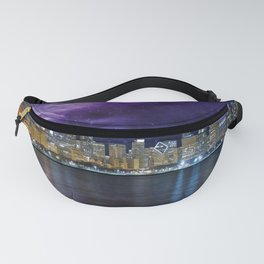 Spacey Chicago Skyline Fanny Pack