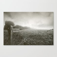 Woody Bay Canvas Print