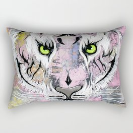 """Tiger Tiger"" Rectangular Pillow"