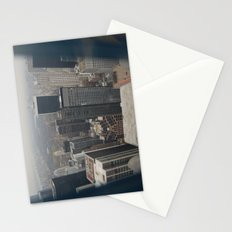 Skyline in Perspective Stationery Cards