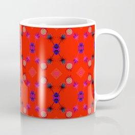 Fancy Argyle /Orange Coffee Mug