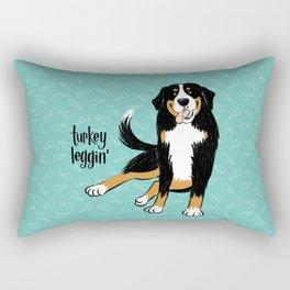 Turkey Leggin' Rectangular Pillow