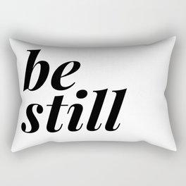 be still my soul (1 of 2) Rectangular Pillow