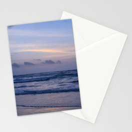 Blue Morning at the Beach Stationery Cards