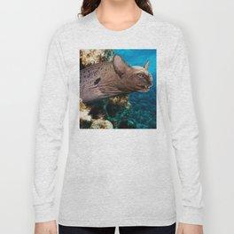 Moray Eel Cat Long Sleeve T-shirt
