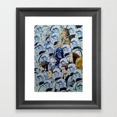 Star war Guerra Galaxias Framed Art Print