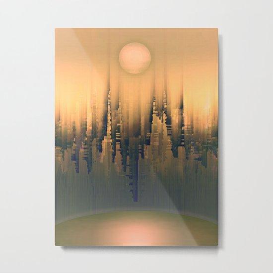 Reversible Space III Metal Print