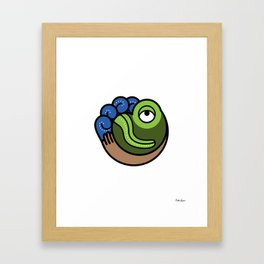 Hacienda San Lucas Toad Framed Art Print