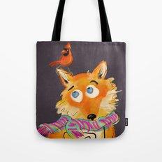 Hello You Mr Fox Tote Bag