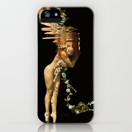 Flower Girl 2 iPhone Case