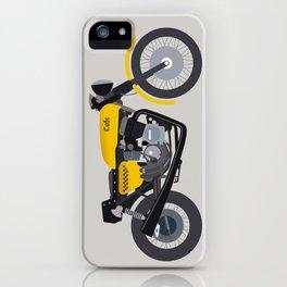 Cafe Bike iPhone Case