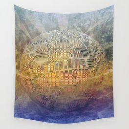 Atlante 11-06-16 / SUBAQUATIC - AERIAL Wall Tapestry