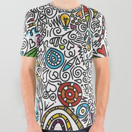COLOUR All Over Graphic Tee