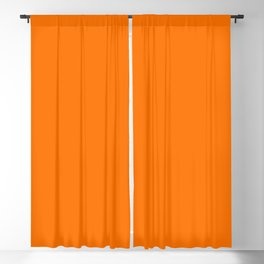 Bright Neon Orange Russet 2018 Fall Winter Color Trends Blackout Curtain