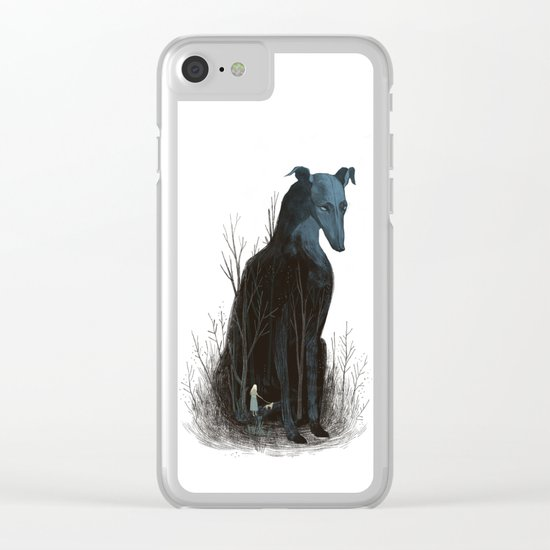 Night Walk Clear iPhone Case