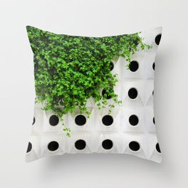 Nature and Structure Throw Pillow