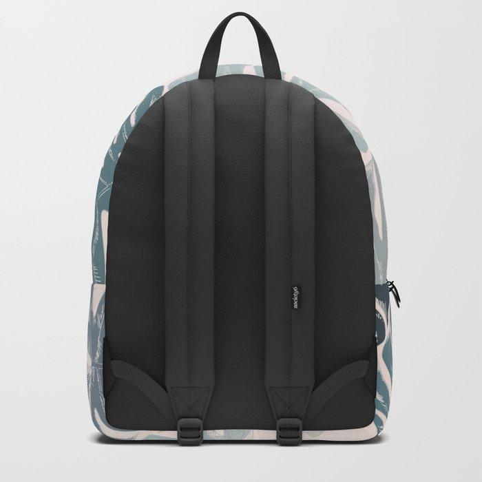 Blue romance Backpack