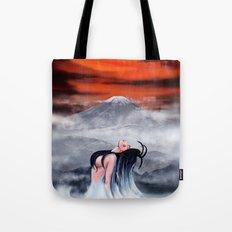 Resurrect Japan Digital Painting Tote Bag