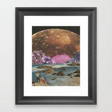 Crystal Callisto Framed Art Print