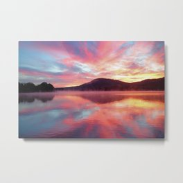Sunrise: Fire Above and Fire Below Metal Print