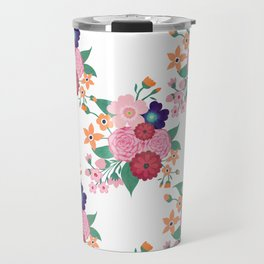 Pretty summer flowers design Travel Mug