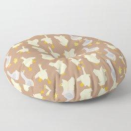 Ducks in a row Floor Pillow