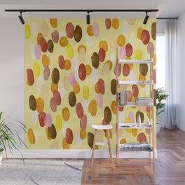 Digital Acrylic Dots Wall Mural