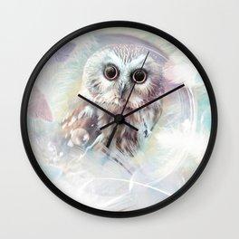 Chouette douceur Wall Clock
