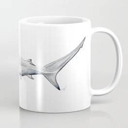 Hammerhead shark for shark lovers, divers and fishermen Coffee Mug