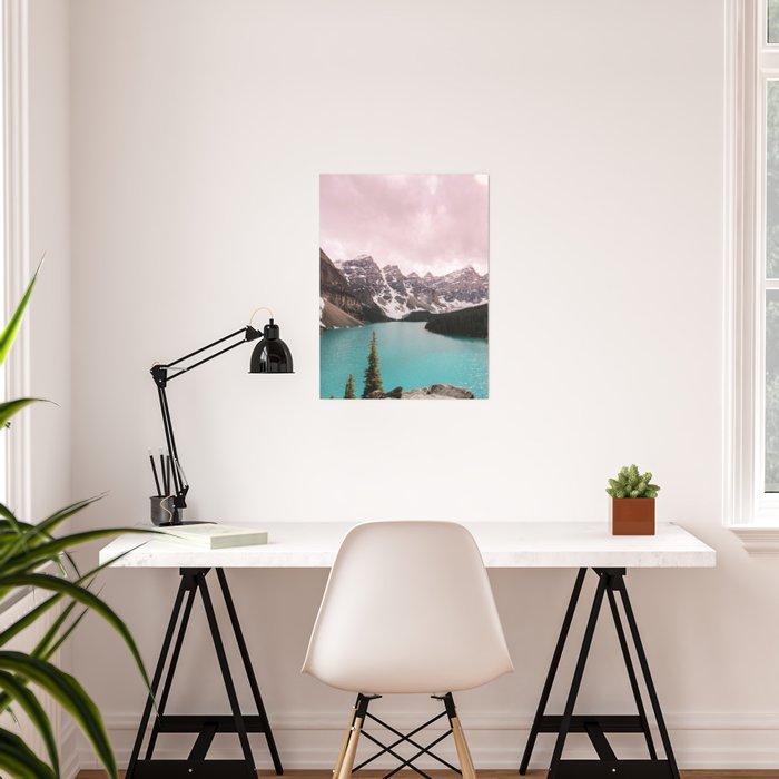 Moraine Lake Banff National Park Poster