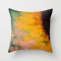 Sunflower I (mini series) Throw Pillow
