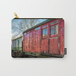 Old Train Wagon Carry-All Pouch
