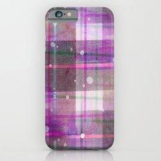 Pink Plaid iPhone 6s Slim Case