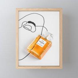 Perfume Framed Mini Art Print