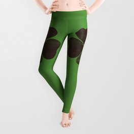 By Chance - Green Leggings