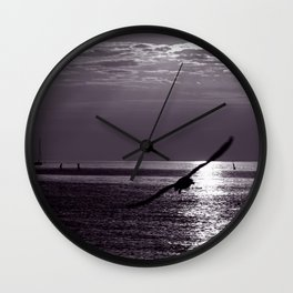 MYSTIC WINGS on the BALTIC Wall Clock