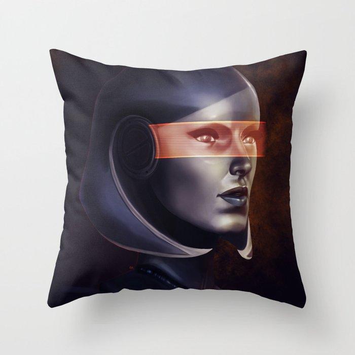 Mass Effect: EDI Throw Pillow